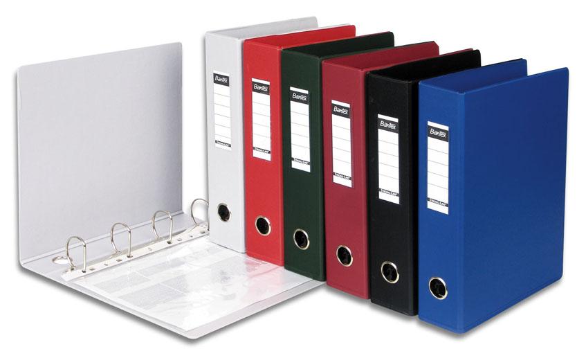 Папки регистраторы с арочным механизмом