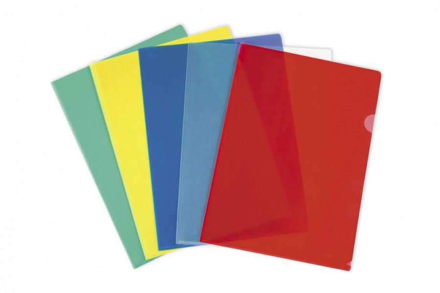 Папки-уголки пластиковые