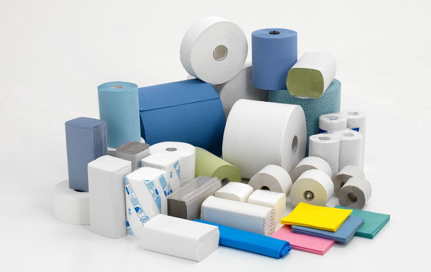 Полотенца бумажные офисно-бытовые