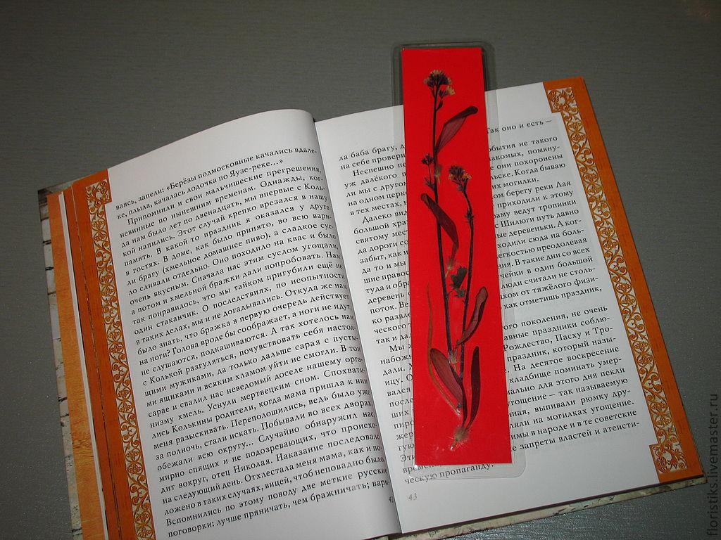 Закладки для школьных книг своим руками
